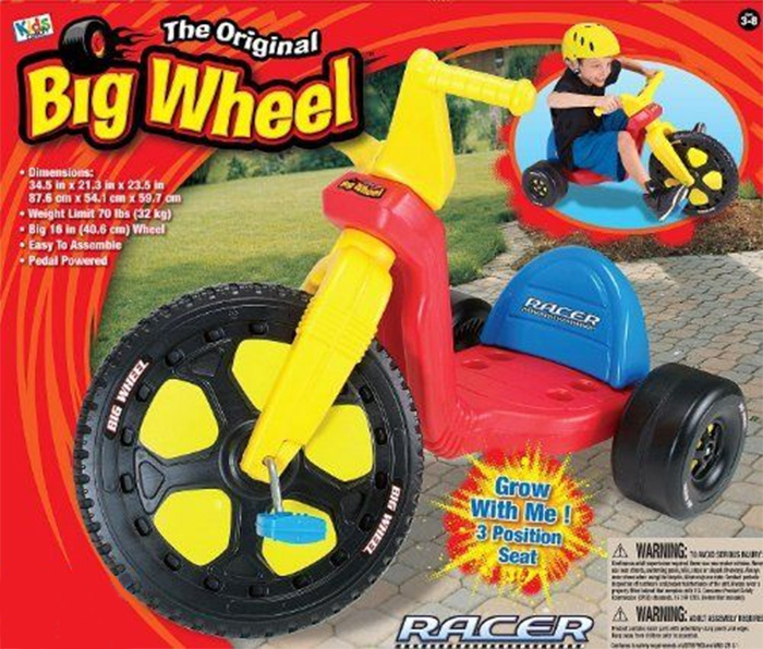 big wheels racer 16""