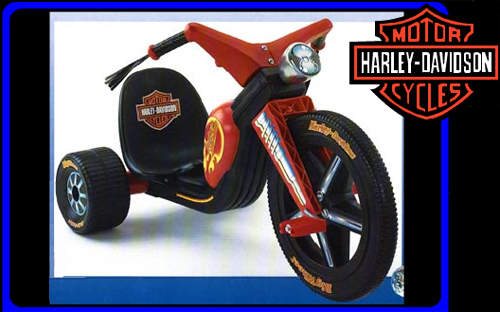 Harley Davidson Big WHeel Hot Cycle