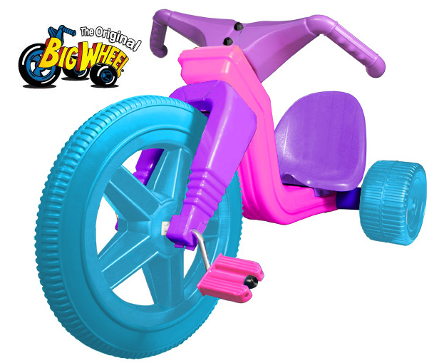 "The Original Big Wheel The Original Big 16"" Wheel HOT CYCLE ""FASHION GIRLZ"" Limited Edition Trike at Sears.com"