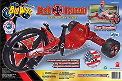 Big Wheel RED BARON Sidewinder