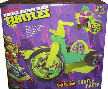 Turtles Big Wheel 16""