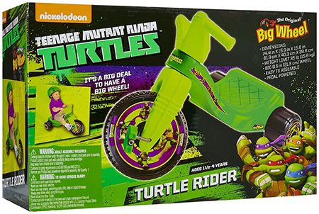 Teenage Mutant Ninja Turtles Big Wheel Junior Rider